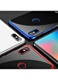 Microsonic Xiaomi Redmi Note 5 Kılıf Skyfall Transparent Clear  Gümüş
